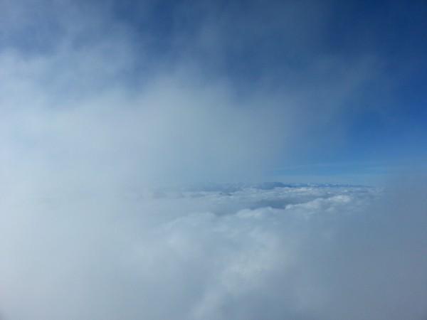 Wolken am Säntis